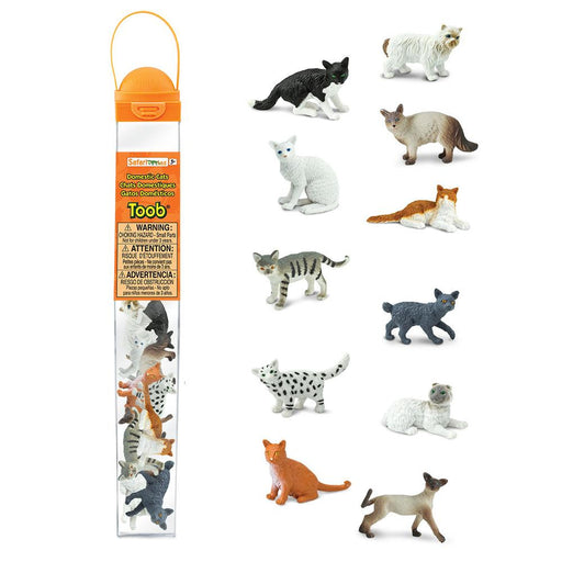 Domestic Cats TOOB® - Safari Ltd®