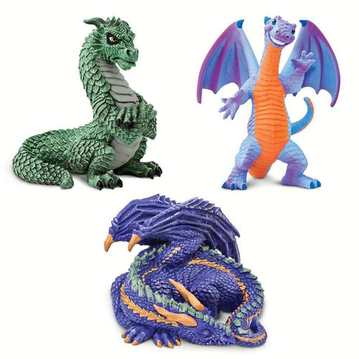 Dragon Emotions - Set of 3 Toys - Safari Ltd®