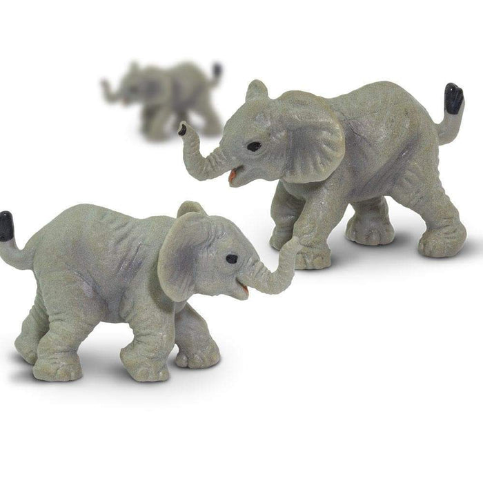 Elephants - 192 pcs - Good Luck Minis | Montessori Toys | Safari Ltd.