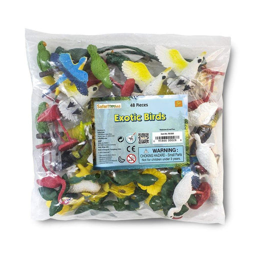 Exotic Birds Bulk Bag - Safari Ltd®