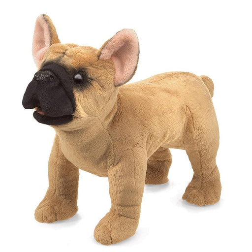 French Bulldog Stuffed Animal Puppet - Safari Ltd®