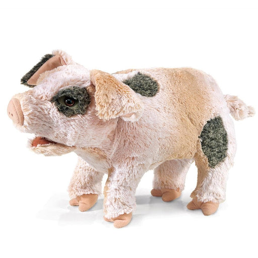 Grunting Pig Stuffed Animal Puppet - Safari Ltd®