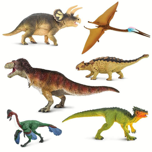 Hell Creek Dinos - Set of 6 Toys - Safari Ltd®