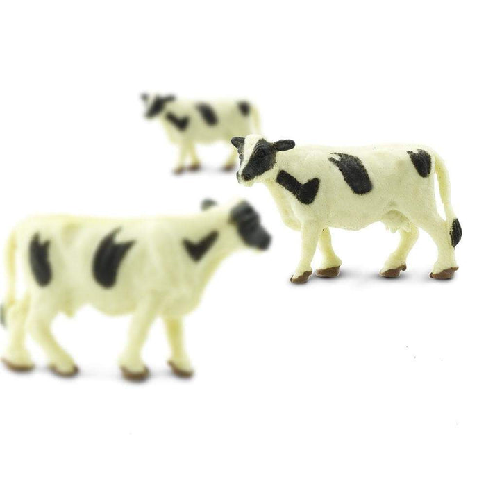 Holstein Cows - 192 pcs - Good Luck Minis | Montessori Toys | Safari Ltd.