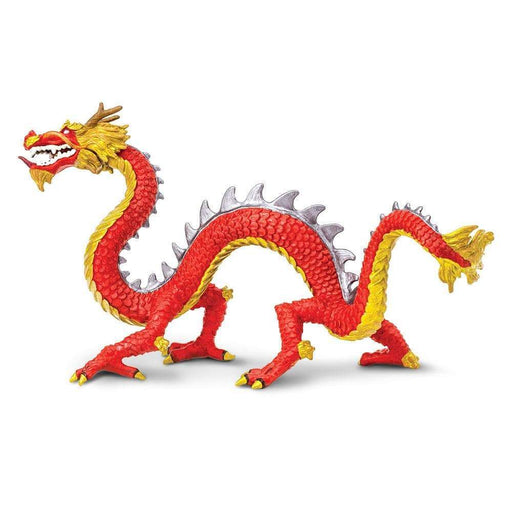 Horned Chinese Dragon Toy | Dragon Toy Figurines | Safari Ltd.