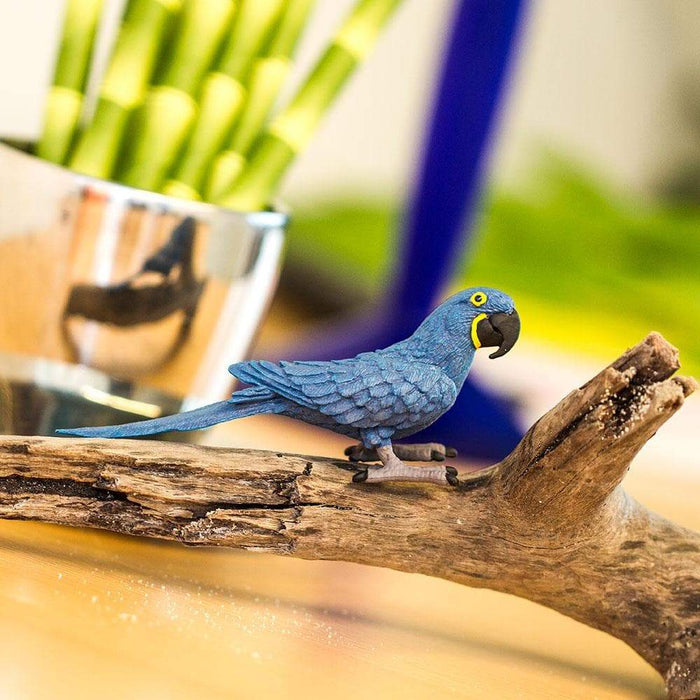 Hyacinth Macaw Toy | Wildlife Animal Toys | Safari Ltd.