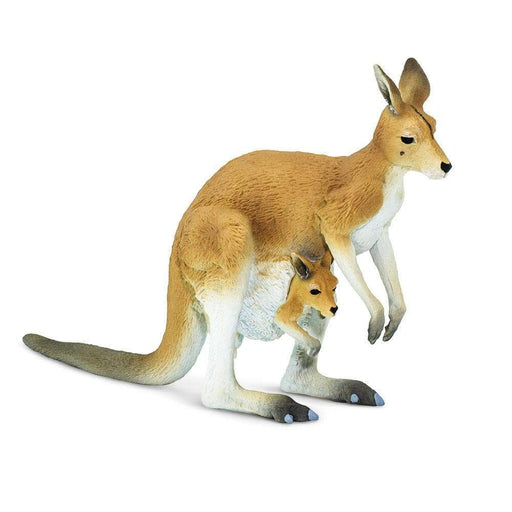 Kangaroo with Joey Toy | Wildlife Animal Toys | Safari Ltd.
