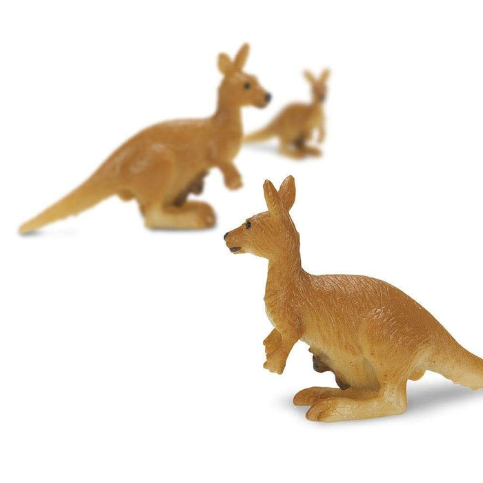 Kangaroos with Babies - Good Luck Minis® - Safari Ltd®