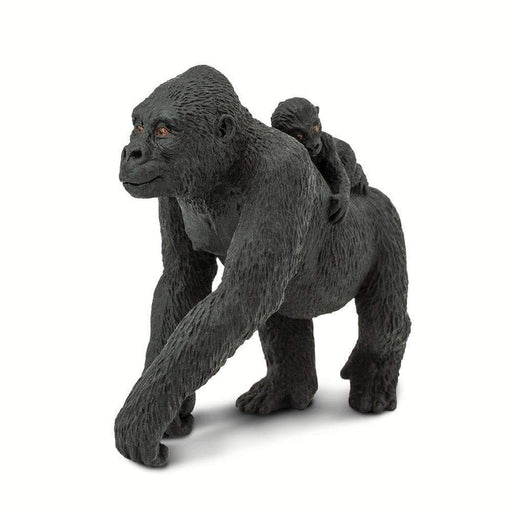Lowland Gorilla with Baby - Safari Ltd®