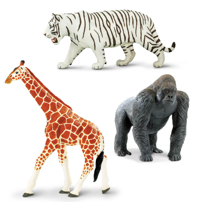 New Adventure Wonderful Wildlife – Set of 3 Toys - Safari Ltd®