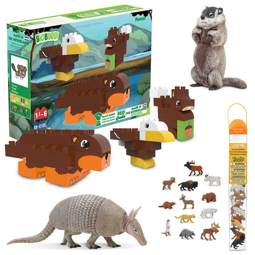 North American Wildlife Activity Bundle - Safari Ltd®