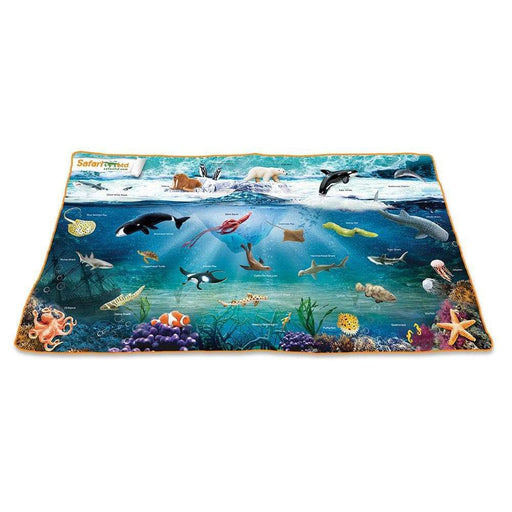 Ocean Playmat  - Sea Life Toys by Safari Ltd.