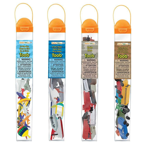 On the Go TOOB Bundle - Set of 4 TOOBS - Safari Ltd®