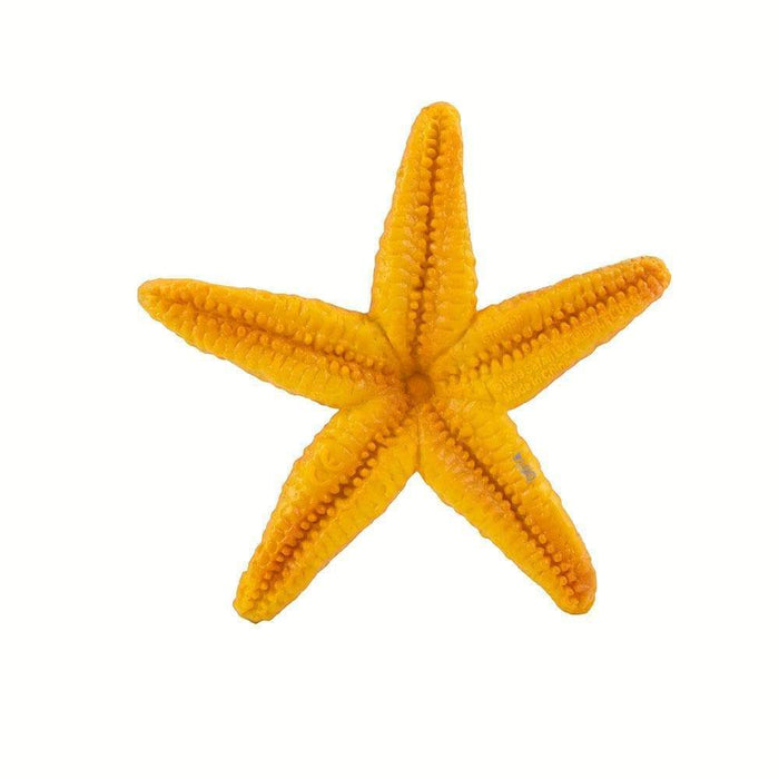 Orange Starfish Toy - Sea Life Toys by Safari Ltd.