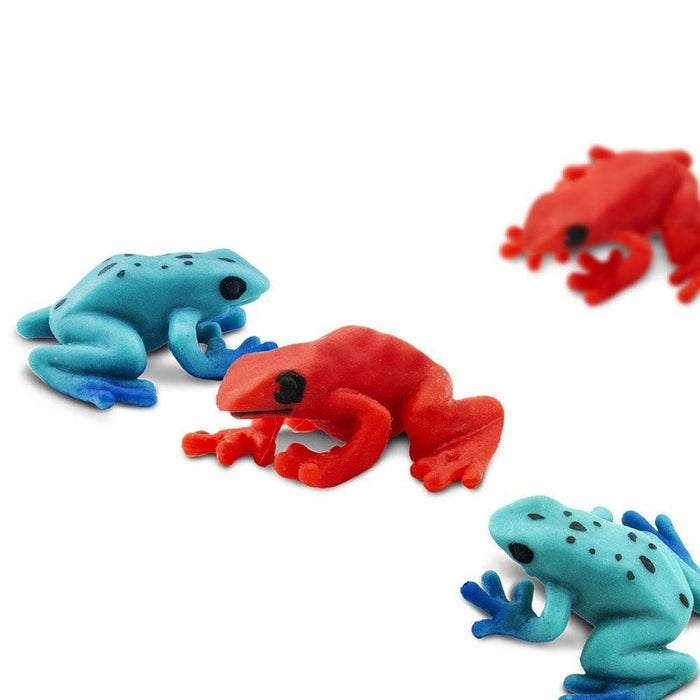 Poison Dart Frogs - Good Luck Minis® - Safari Ltd®