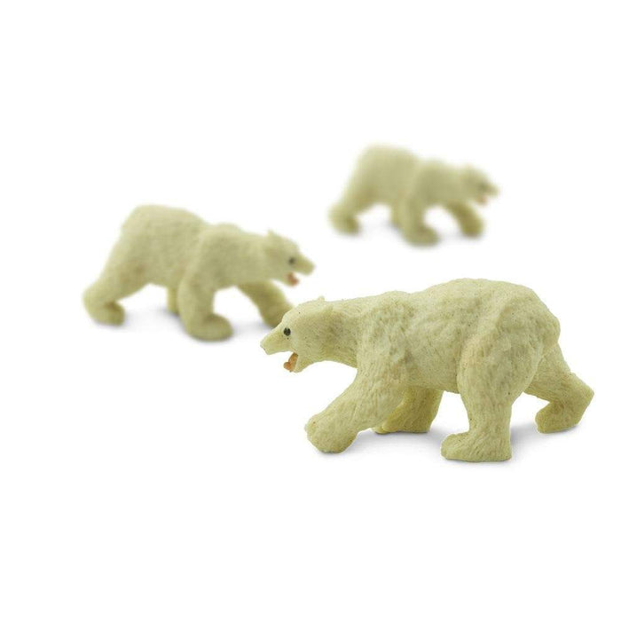 Polar Bears - 192 pcs - Good Luck Minis | Montessori Toys | Safari Ltd