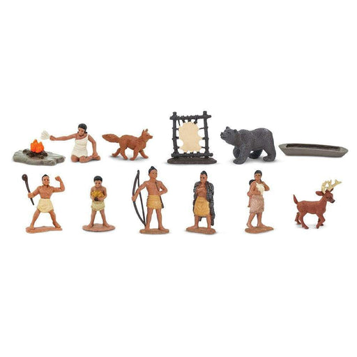 Powhatan Indians TOOB® - Safari Ltd®