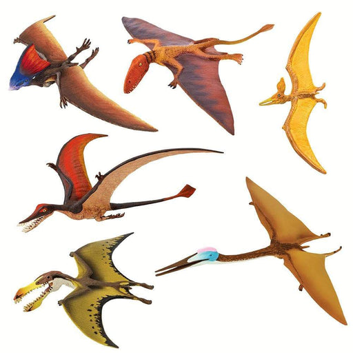 Pterrific Pterosaurs - Set of 6 Toys - Safari Ltd®