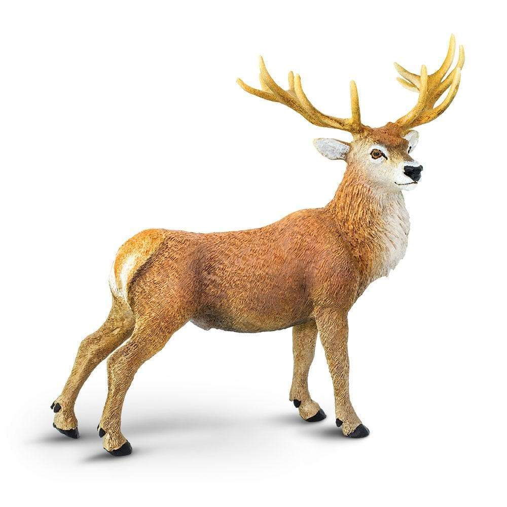 Stag and Deer Figurines