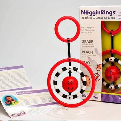 SmartNoggin NogginRings Reaching & Grasping Rings - Safari Ltd®