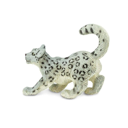 Snow Leopard Cub Toy | Wildlife Animal Toys | Safari Ltd.