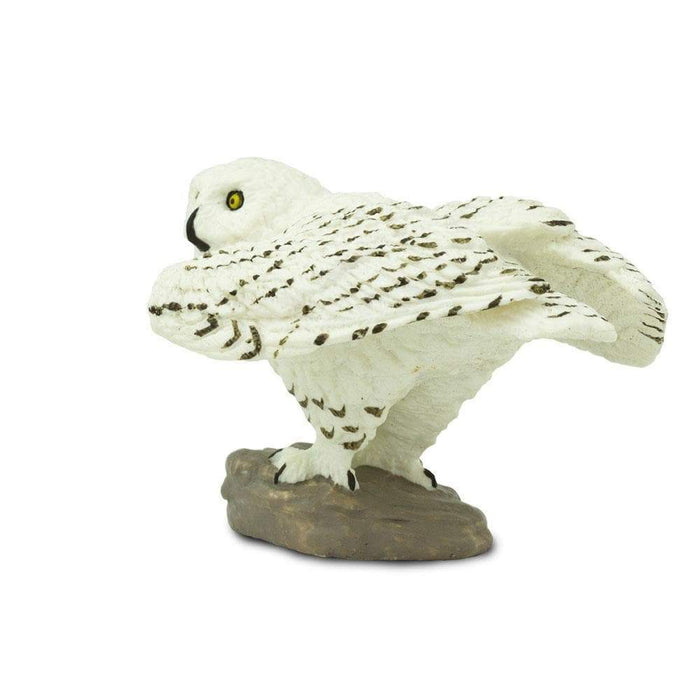 Snowy Owl Toy | Wildlife Animal Toys | Safari Ltd.