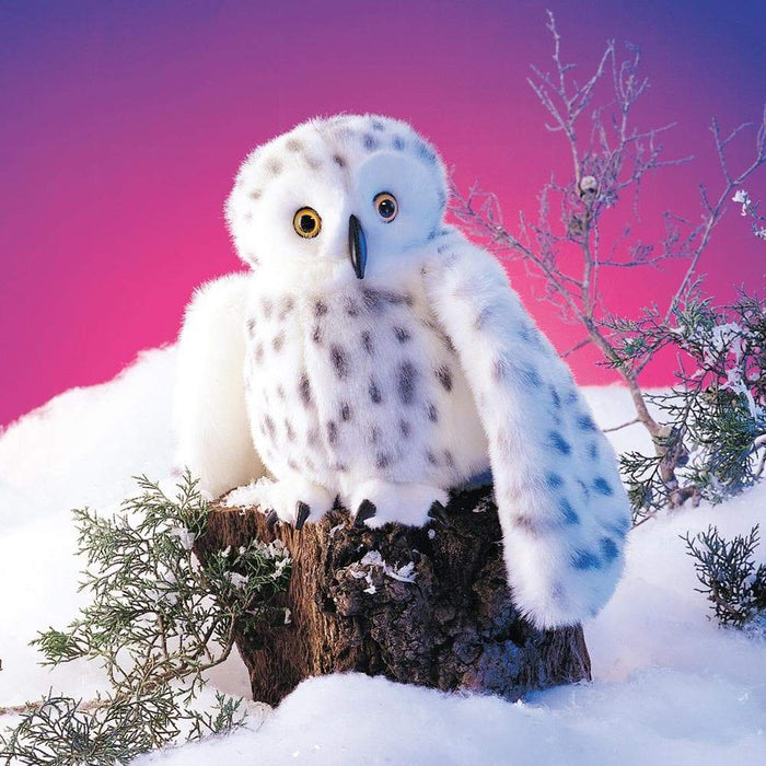 Snowy Owl Stuffed Animal Puppet - Safari Ltd®
