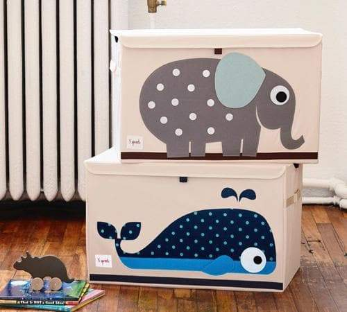 Whale Toy Chest - 3 Sprouts - Safari Ltd®