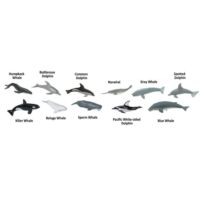 Whales and Dolphins Bulk Bag - Safari Ltd®