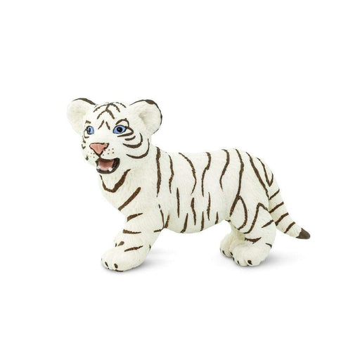 White Bengal Tiger Cub Toy | Wildlife Animal Toys | Safari Ltd.