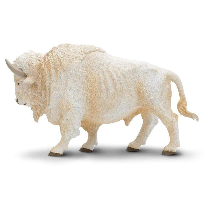White Buffalo Toy | Wildlife Animal Toys | Safari Ltd.