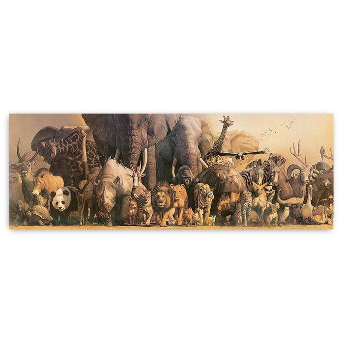 Wild Animal Panorama Poster - Safari Ltd®