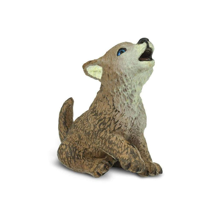 Wolf Pup Toy | Wildlife Animal Toys | Safari Ltd.