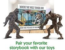 Pair your favorite storybook with our toys