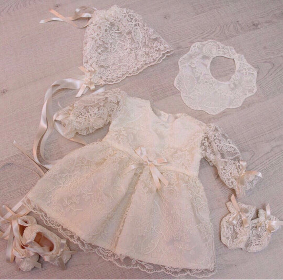 Gianna Lace Dress Set