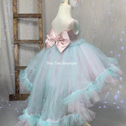 Cotton Candy High Low Dress