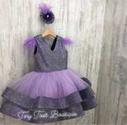 Eleanor Dress (purple)