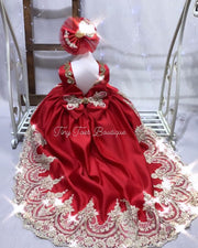 Cassandra Gown (Red)