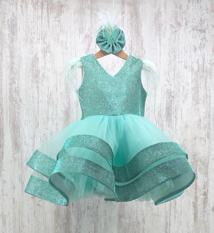 Eleanor Dress (green)