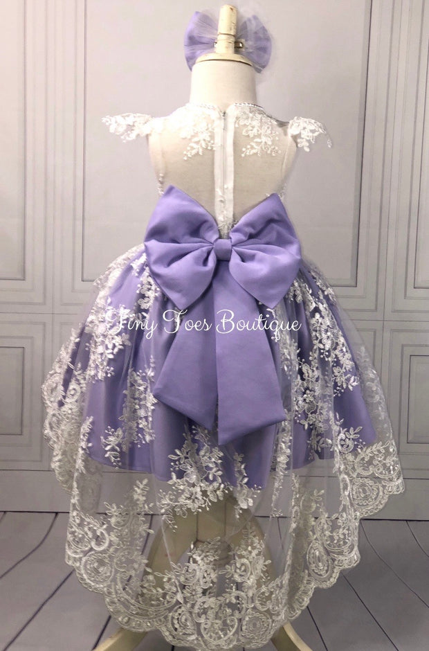 Sarah Dress (Lavender)