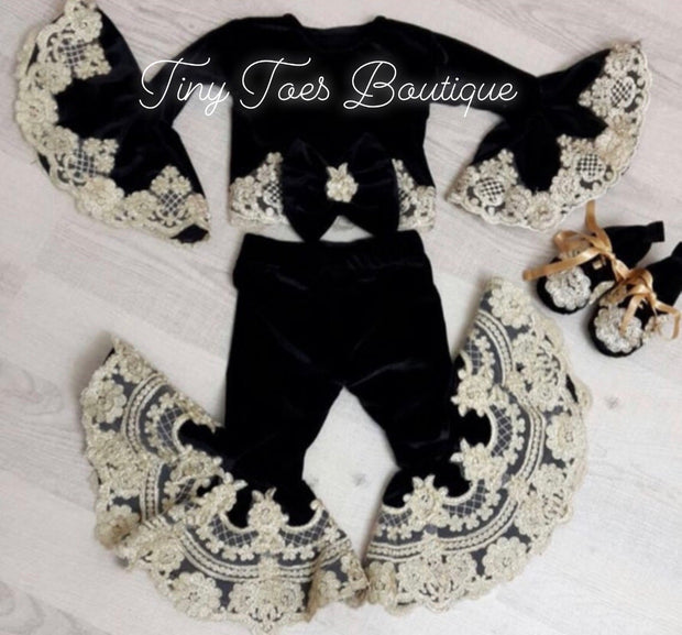 Jewels Bell Bottom Set