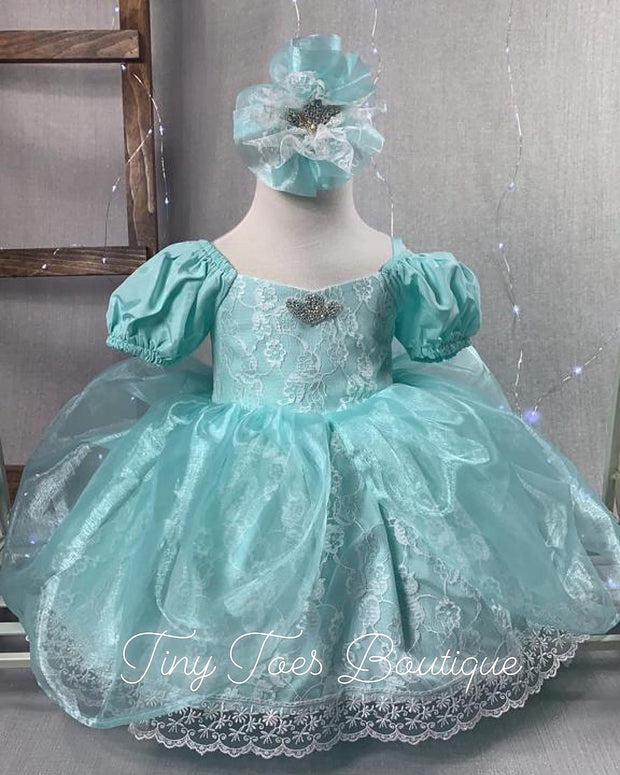 Princess Ariel Inspired Dress (Little Mermaid)