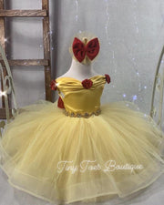 Princess Belle Inspired Dress