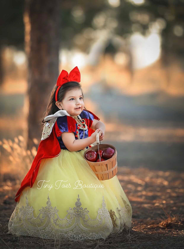 Snow White Vintage Dress