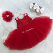 Francesca Dress (Red)