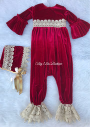 Holly Romper Set
