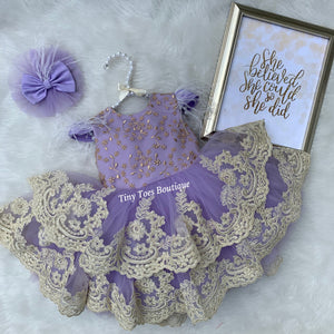 Anna Dress (Lavender)