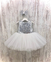 Tony Ann Dress (Silver)