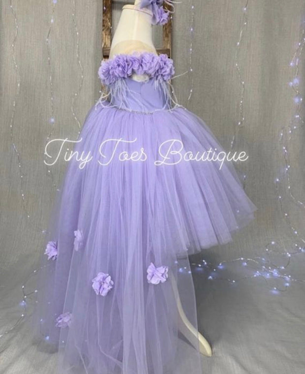 Destiny Dress ( Lavender )