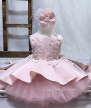 Layla Dress ( Rose Pink )